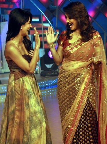 Malaika Arora Khan and Madhuri Dixit