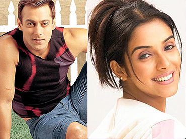 Salman Khan and Asin