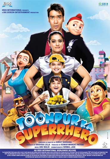 A poster of Toonpur Ka Superhero