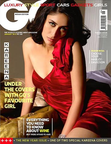 Kareena Kapoor on the cover of GQ