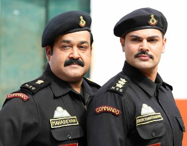 Mohanlal and Ganesh Venkataraman in Kandahar