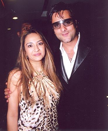 Natasha and Fardeen Khan