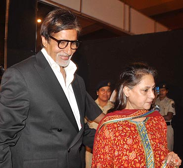 Amitabh and Jaya Bachchan