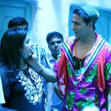 Farah Khan and Akshay Kumar