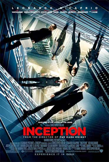 A poster of Inception