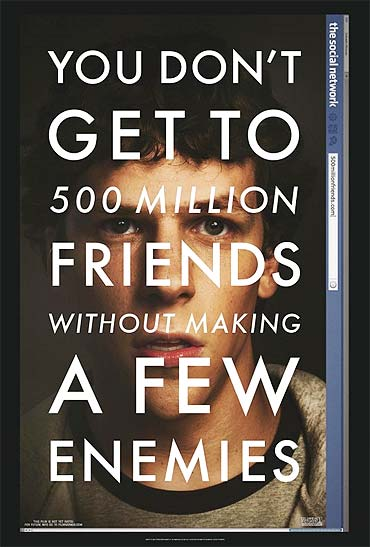 Poster of The Social Network
