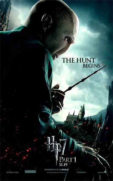 Poster of Harry Potter and the Deathly Hallows-Part 1