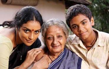 Swetha Menon (left) in T D Dasan