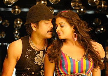 Nagarjuna and Priyamani in Ragada