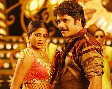 Priyamani and Nagarjuna in Ragada