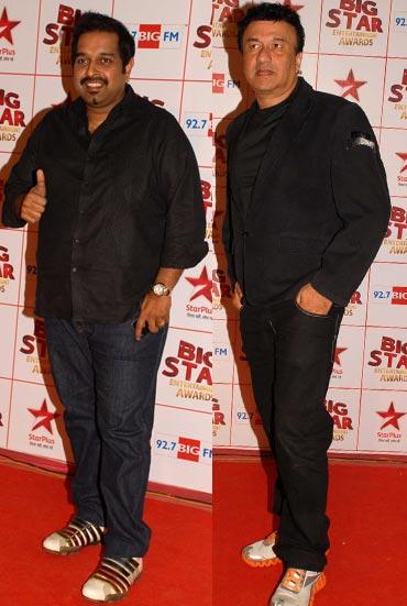 Shankar Mahadevan and Anu Malik