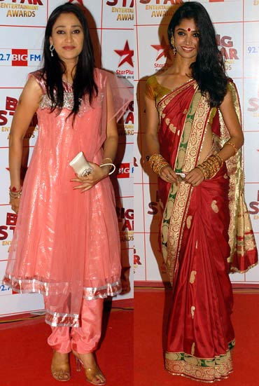 Disha Vakani and Ratan Rajput