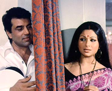 A scene from Chupke Chupke