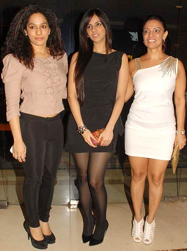 Masaba Gupta, Nishka Lulla, Leena Mogre
