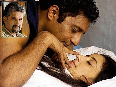 A scene from Elektra. Inset: Shyamaprasad