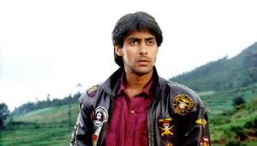 Salman Khan in Maine Pyaar Kiya