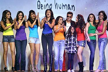 Only Salman could have got these stars to walk the ramp for his Being Human show