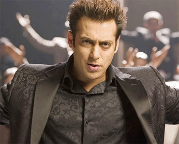 Salman in Subhash Ghai's unsuccessful Yuvraj