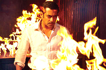 Dabangg was produced by Arbaz Khan, Salman's younger brother