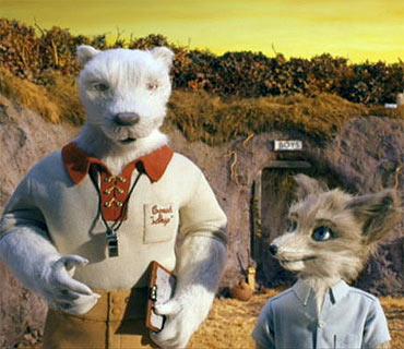 A scene from The Fantastic Mr Fox