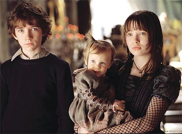 A scene from Lemony Snicket's A Series Of Unfortunate Events