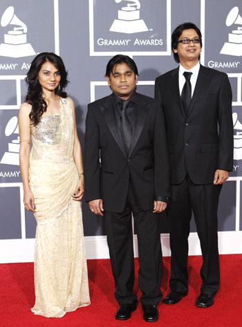 Tanvi Shah, AR Rahman and Vijay Prakash