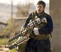 A scene from District 9