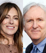 Katherine Bigelow and James Cameron
