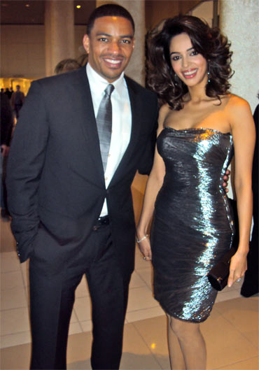 Laz Alonso and Mallika Sherawat
