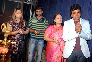 Rakshita, Prem, Geetha and Shivrajkumar