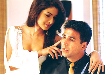 A scene from Aitraaz