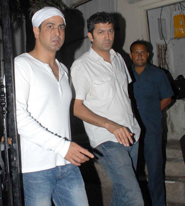 Ronit Roy and Kunal Kohli