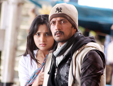 Ramya and Sudeep
