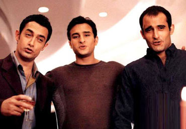 A scene from Dil Chahta Hai