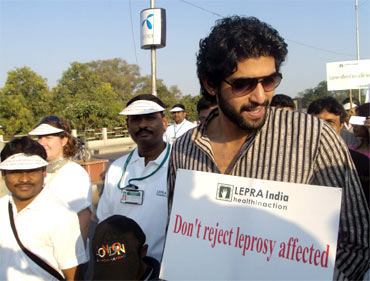 Rana Daggubati at an awareness campaign