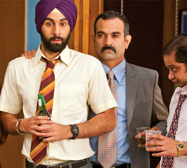 A scene from Rocket Singh - Salesman of the Year