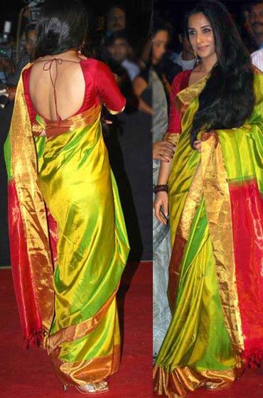 Vidya Balan Backless Rediff Com Movies