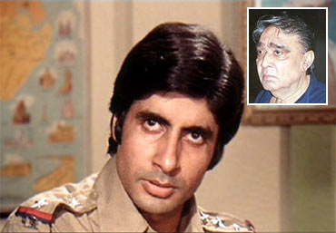 Amitabh Bachchan. Inset: Prakash Mehra