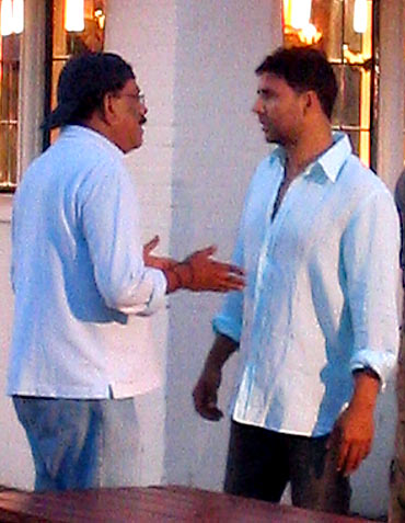 Priyadarshan and Akshay Kumar