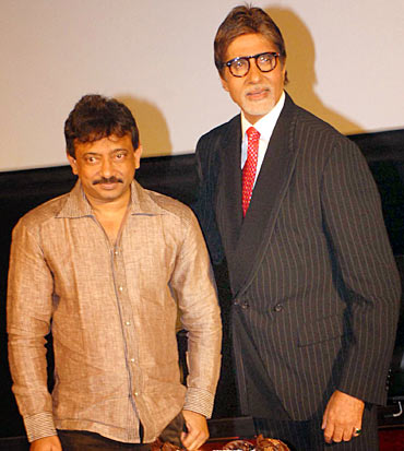Ram Gopal Varma and Amitabh Bachchan