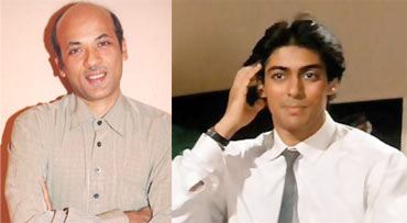 Sooraj Barjatya and Salman Khan