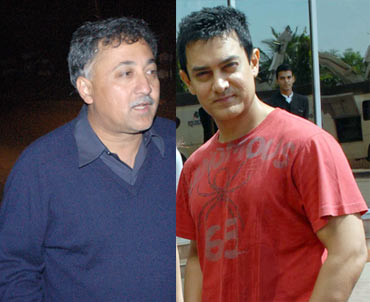 Mansoor Khan and Aamir Khan