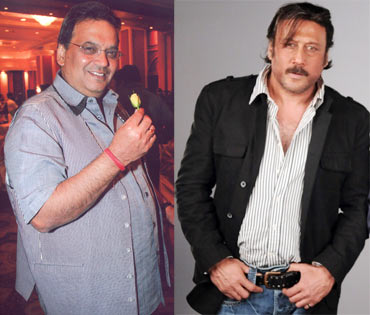 Subhash Ghai and Jackie Shroff