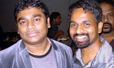 A R Rahman and Alphons Joseph