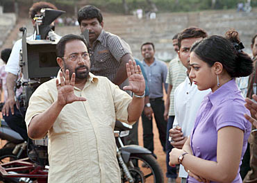 Sibi Malayil on the sets