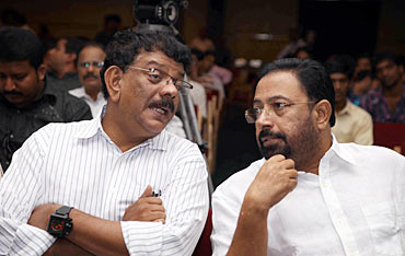 Priyadarshan and Sibi Malayil