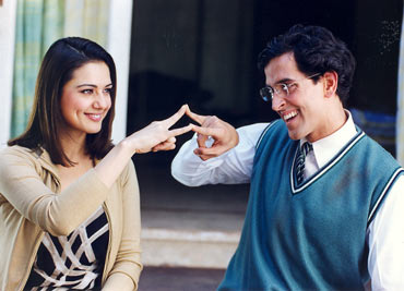 A scene from Koi Mil Gaya