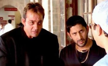 A scene from Munnabhai MBBS