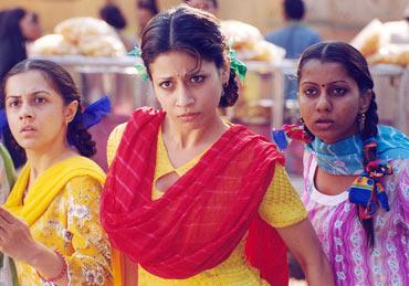 A scene from Main Madhuri Dixit Banna Chahti Hoon