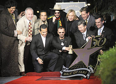 Ringo Starr (front centre)